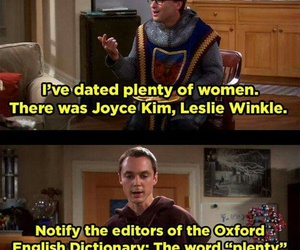 funny, the big bang theory, and sheldon cooper image