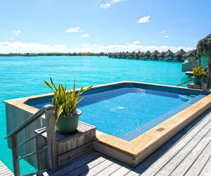 pool, luxury, and beach image