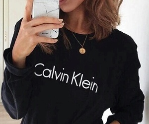 Calvin Klein, iphone, and black image