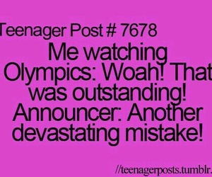 funny, teenager post, and olympics image