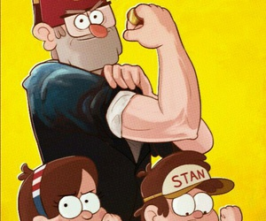 gravity falls and stanley pines image