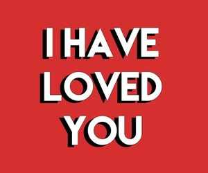 love, quote, and red image