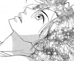 anime, shinobi life, and black and white image