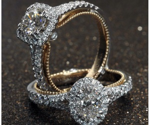 diamond, ring, and wedding image