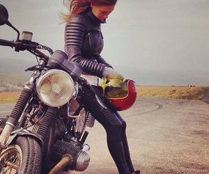 biker, sexy, and boots image