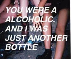 alcohol, depressive, and sad image