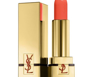YSL, lipstick, and gold image