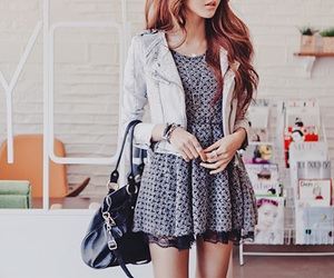 fashion, dress, and kfashion image