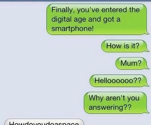 funny, mum, and text image