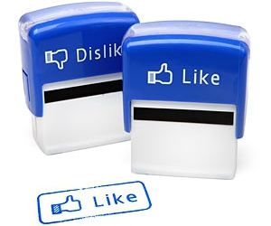 facebook, like, and stamp image
