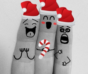 black and white, family, and festive image
