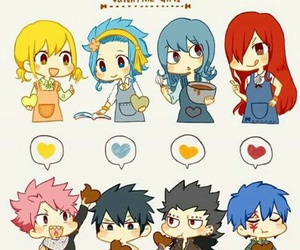 fairy tail, erza, and natsu image