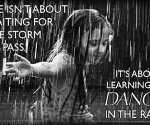 dancing, rain, and dance image