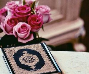 quran, islam, and pink image