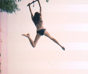 jump, swing, and paradise image