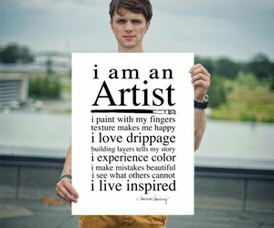 artist, i AM, and painting image