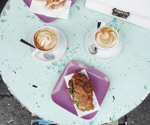 cappuccino, coffee, and interior image