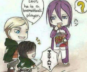 Erwin, levi, and snk image