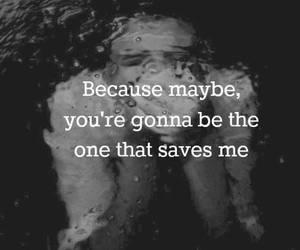 quotes, wonderwall, and oasis image