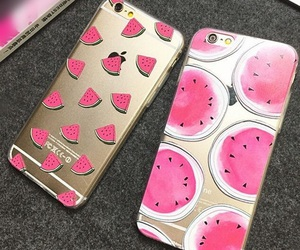 cases, iphone, and pink image