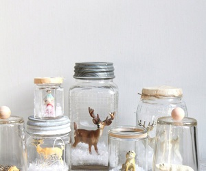christmas, animal, and winter image