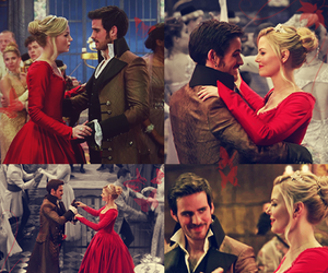 once upon a time, emma, and hook image