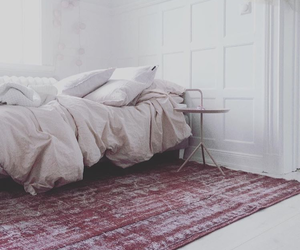 bed, decor, and home image