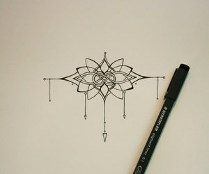 celtic knot, lotus, and style image