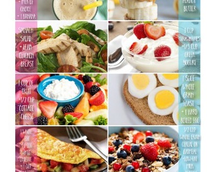 food, fitness, and health image