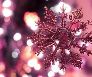 christmas, snowflake, and snow image
