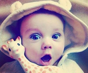 baby, cute, and sweet image