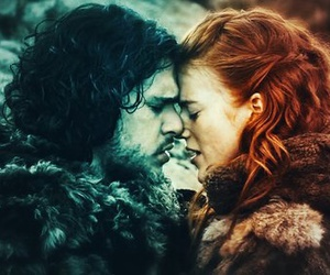 game of thrones, ygritte, and love image