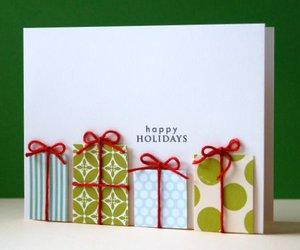 christmas, diy, and card image