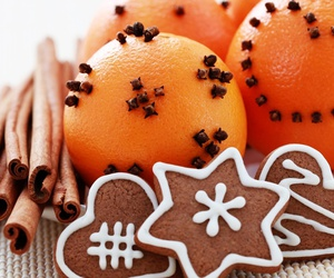 christmas and tangerines image