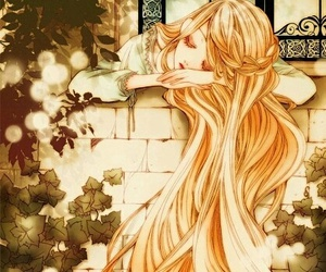 anime, rapunzel, and anime girl image