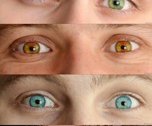 5sos, eyes, and luke hemmings image