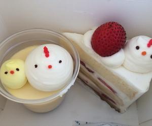food, kawaii, and cake image