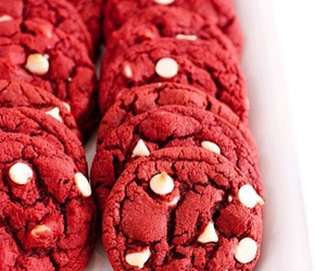 food, Cookies, and red image