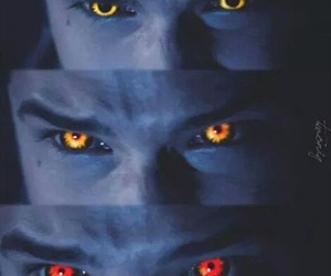 teen wolf, alpha, and eyes image