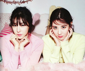 snsd, tiffany, and seohyun image