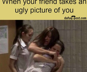 funny, friends, and picture image