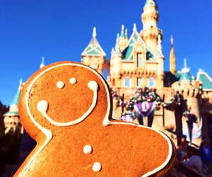 castle, christmas, and cookie image