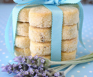 Cookies and lavender image
