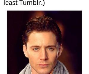 Jensen Ackles, tom hiddleston, and tumblr image