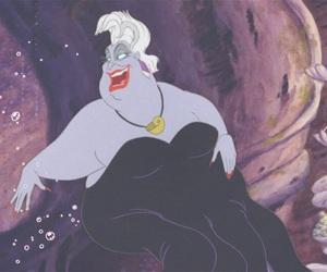 disney, the little mermaid, and disney villains image