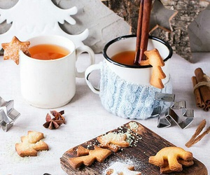 christmas, food, and tea image