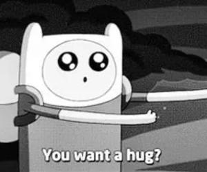 hug, adventure time, and cute image