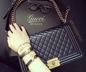 chanel, gucci, and bag image