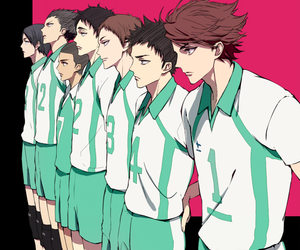 haikyuu and boy image