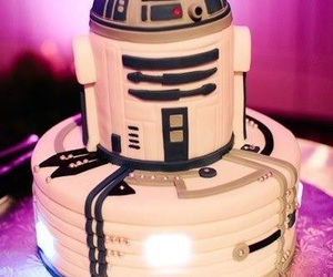 dessert, r2d2, and star wars image